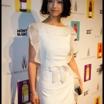 Tang Wei at the Mont Blanc party