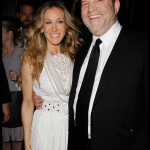 Sarah Jessica Parker and Harvey Weinstein at the Mont Blanc Party