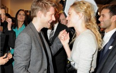 Christopher Bailey with Kate Bosworth - Burberry AW12
