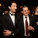 Adrien Brody and Audemars Piguet CEO, Philippe Merk
