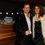 Jarno Trulli and wife Barbara