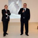 Audemars Piguet CEO, Philippe Merk and Audemars Piguet Italia CEO, Franco Ziviani