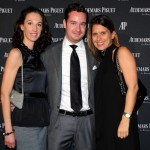 (L-R) Severine Bonnie, Fabio Cattaneo and Annabelle Garcia