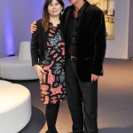 Editor of British Vogue, Alexandra Schulman and President of VERTU, Perry Oosting