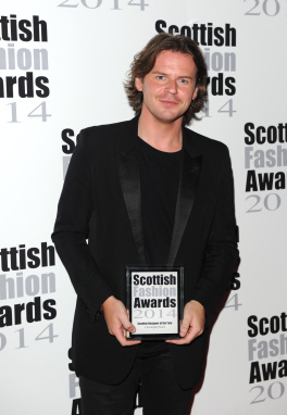 SCOTTISH DESIGNER OF THE YEAR CHRISTOPHER KANE